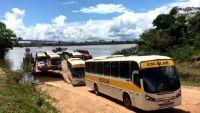Rondônia: ônibus escolar chegam em Ponta do Abunã