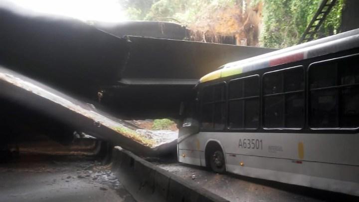 Túnel Acústico, na Zona Sul do Rio, é fechado após desabamento