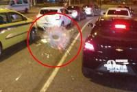Ônibus é atingido por tiro no Alemão no Rio de Janeiro