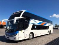 Santa Cruz renova parte de sua frota com novos Comil Invictus DD Scania 6x2 e 8x2