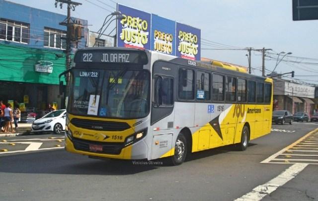 SP: Tarifa de ônibus aumenta para R$ 4,40 em Americana