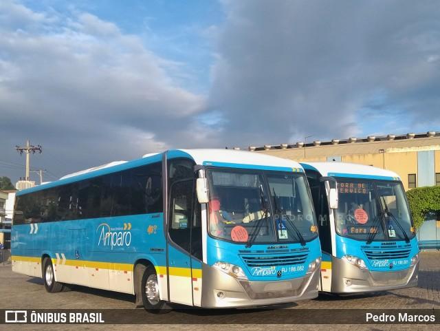 Nossa Senhora do Amparo renova com novo ônibus Busscar