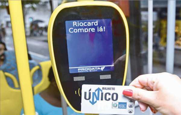Bilhete Único terá intervalo de três horas no Rio