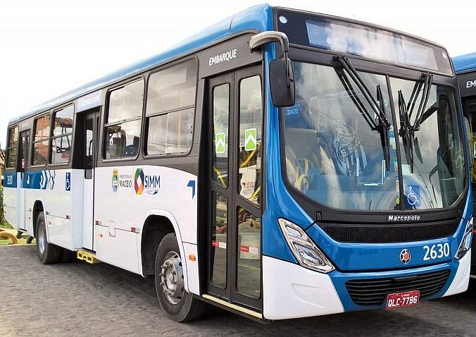 Ônibus de Maceió devem começar circular com atrasos nesta segunda-feira