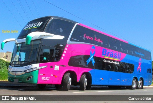 TransBrasil traz ônibus DD 15 metros com 16 poltronas no primeiro piso