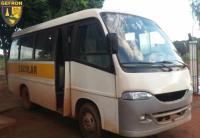 MT: motorista de micro-ônibus é preso transportando drogas e armas