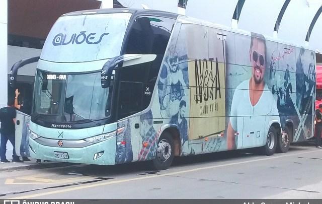 Ônibus da Banda Aviões se envolve em acidente na Paraíba