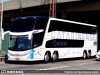 PR: Cão farejador encontra 3 kg de drogas com passageiro de ônibus abordado na BR-277