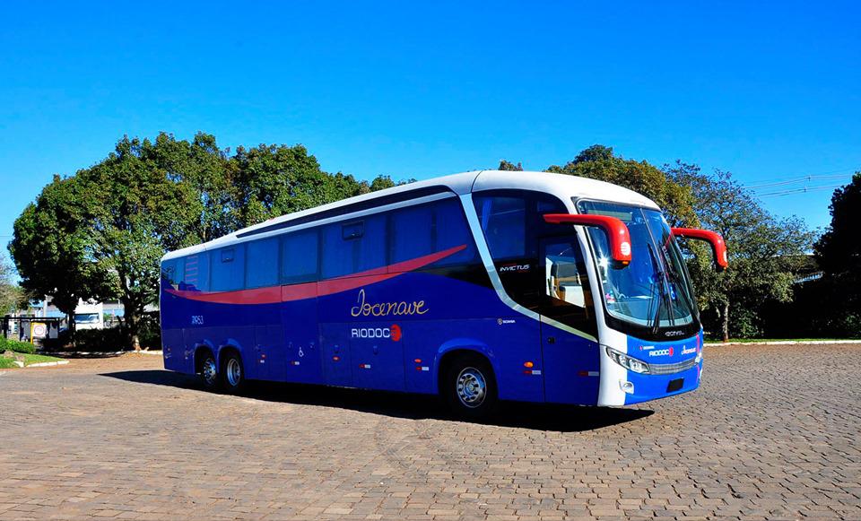 Viação Rio Doce começa receber seus novos ônibus Comil Invictus Scania