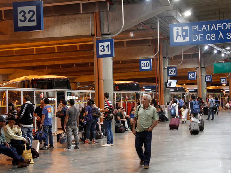 Rodoviária de Campinas aguarda 110 mil passageiros no feriado de Corpus Christi