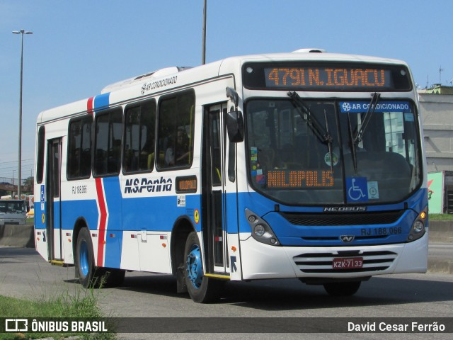 RJ: Bandido é preso após assaltar ônibus na Baixada Fluminense