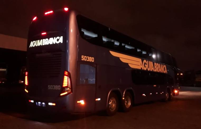 Aguia Branca adquire novos ônibus Paradiso New G7 1800DD Mercedes-Benz 8×2
