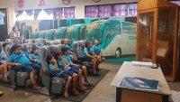 Viação Garcia volta com projeto Criança no Museu