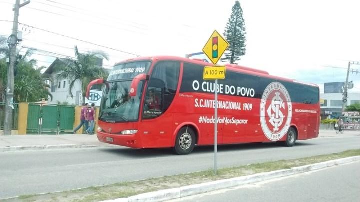 Caravana do Inter chega a Cuiabá