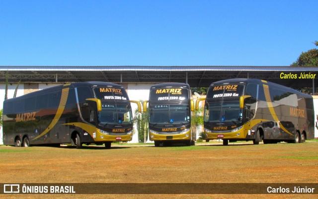 Matriz Transportes renova com ônibus Invictus HD Mercedes-Benz