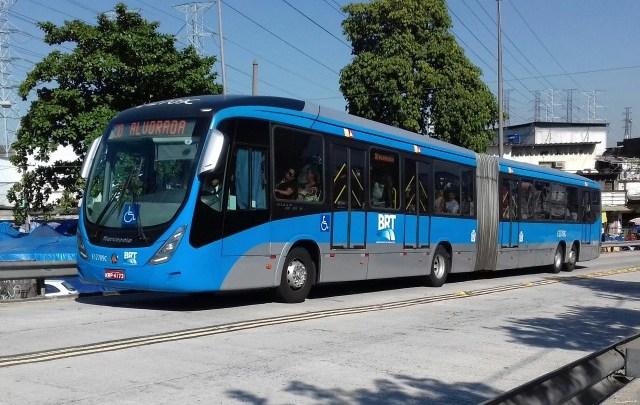 Rio ônibus assume a gestão do BRT Rio após o fim da intervenção
