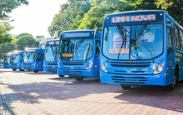 Foz do Iguaçu segue sem utilizar ônibus com ar condicionado já comprados