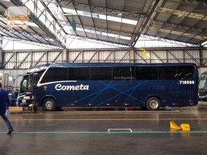 Viação Cometa adota nova numeração com a renovação de parte de sua frota