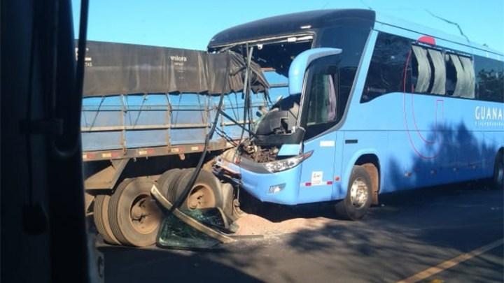Acidente com ônibus da Expresso Guanabara deixa feridos na BR-316 no Maranhão