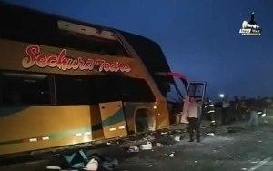 Ônibus tomba no Chile deixando 6 mortos e 41 feridos