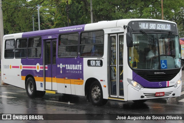 Passagem de ônibus de Taubaté sobe para R$ 4,30 no dia 1 de agosto