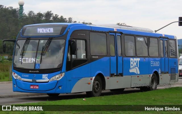 BRT TransBrasil começará operar com ônibus comum no Rio