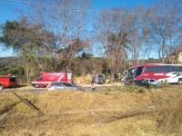 Acidente deixa feridos na rodovia MG-10 em Lagoa Santa