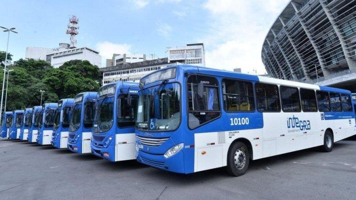 Frota de ônibus com ar condicionado segue para Salvador