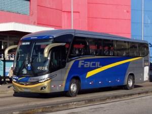Unica e Fácil recebem mais 6 novos ônibus Paradiso New G7 1200 Mercedes-Benz