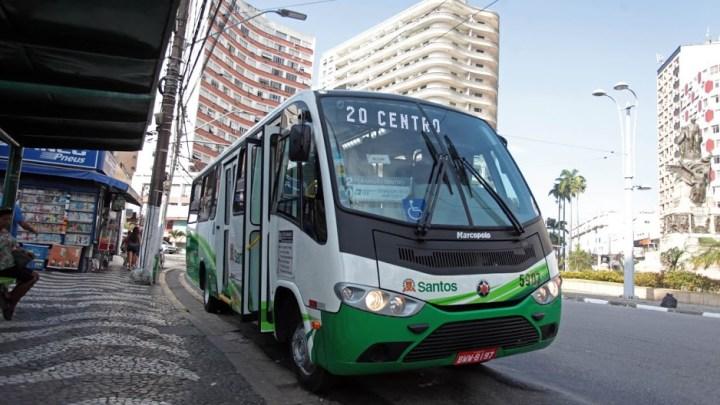 Frota de ônibus de Santos com ar condicionado chega a 95%