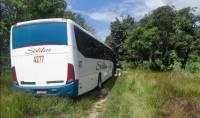PRF troca tiros com bandidos e recupera ônibus de turismo assaltado no Maranhão