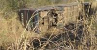 Ônibus da Trans Brasil tomba na BR-135 deixando nove feridos na Bahia