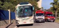 Motorista de ônibus morre após ter mal súbito dirigindo no interior de SP