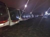 Prefeitura do Rio lacra 40 ônibus da Viação Pégaso e aplica 70 multas