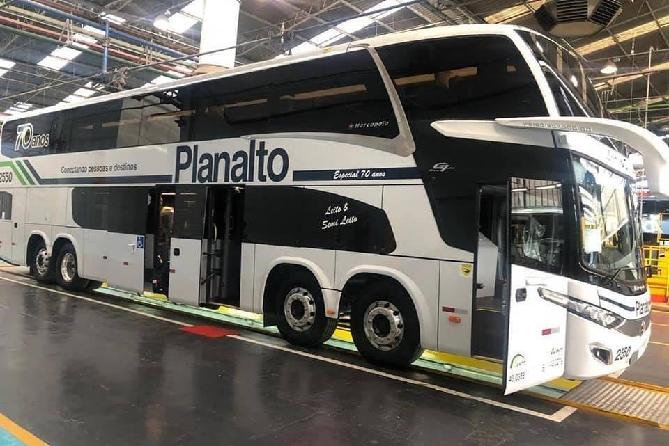 Planalto renova parte de sua frota com 16 Paradiso New G7 1800 DD Mercedes-Benz