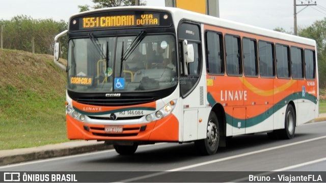 Rio: Ônibus da Viação Linave é assaltado e passageiro acaba baleado na Via Dutra