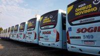 RS: Sogil renova parte de sua frota com 17 novos ônibus