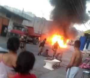 Polícia prende suspeitos de incendiar ônibus na Grande Belo Horizonte