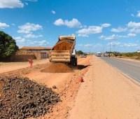 MA: Obras de pavimentação na BR-226 são retomadas