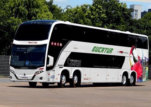 Viação Eucatur deve renovar parte de sua frota com Busscar Vissta Buss DD
