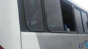 Ônibus da Viação Tanguá e Rio Ita são atingidos por tiros nesta sexta-feira