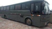 Ônibus de banda sertaneja é levado por bandidos em Curitiba