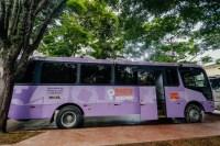 São Paulo recebe ônibus lilás que atende mulheres vítimas de violência