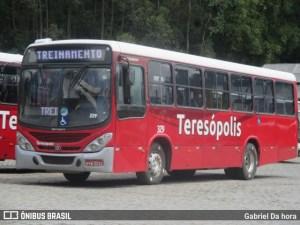 Teresópolis: ônibus circulam normalmente após ônibus incendiado