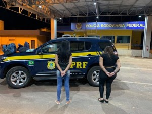 MS: PRF prende duas mulheres com cocaína em ônibus