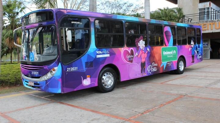 SP: Em Piracicaba Unimed e Via Ágil lançam ônibus Rosa e Azul
