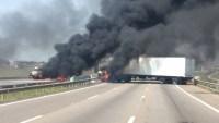 Campinas: Rodovia SP-075 é fechada durante assalto ao Aeroporto de Viracopos