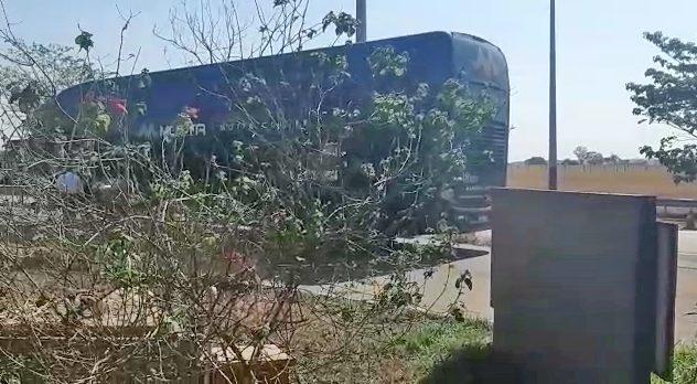 GO: Produto Químico em ônibus da Viação Motta causa mau estar em passageiros