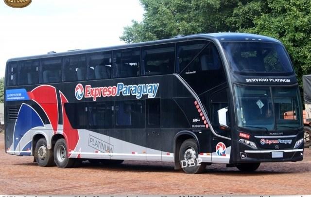Expresso Paraguay renova com dois novos Busscar Vissta Buss DD