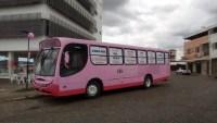 Divinópolis recebe ônibus Rosa nesta sexta-feira 25